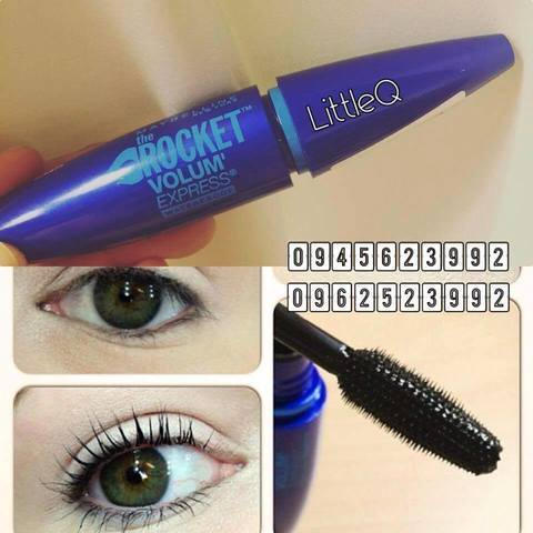 Review Mascara  Maybelline Rocket Volume Express Water Proof
