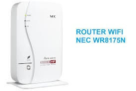 Router wifi NEC WR8175N