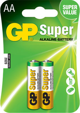 GP Super Alkaline AA