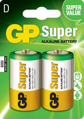 GP Super Alkaline D