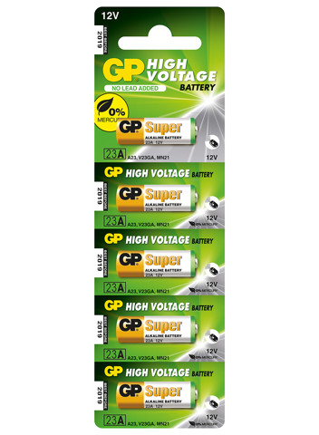 GP Car Alarm Battery - 23AF