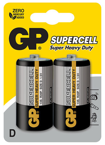 GP Supercell Carbon Zinc D