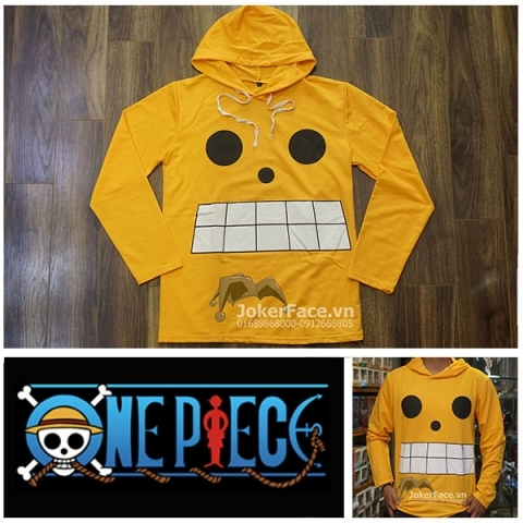 Áo hoodie One Piece Strong World