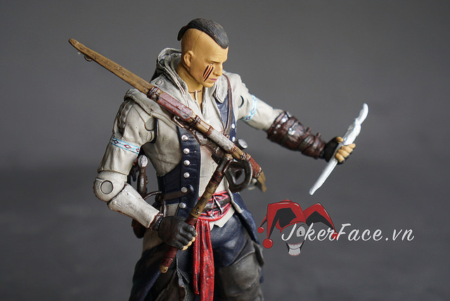 Action Figure Connor Mohawk Ver. - Assassin's Creed