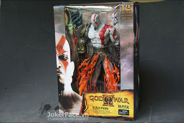 Mô hình Kratos Ares - God Of War loại to
