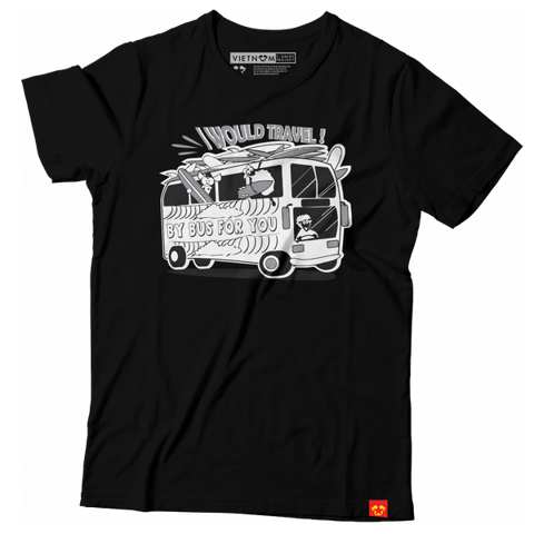GIAYNAMNUNIKEADIDAS - Áo Thun Unisex I would travel by bus for you