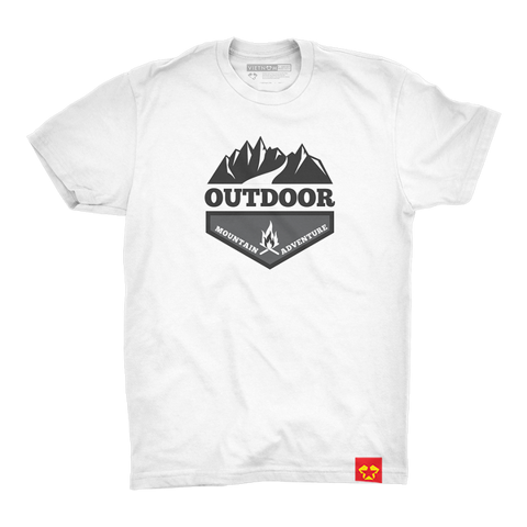 GIAYNAMNUNIKEADIDAS - Áo Thun Unisex Outdoor mountain adventure