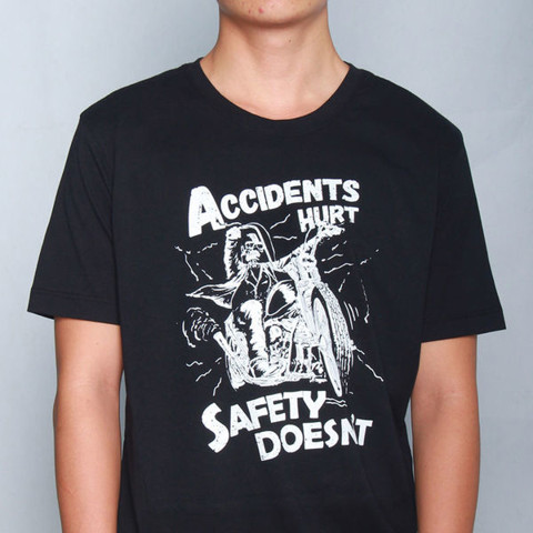 GIAYNAMNUNIKEADIDAS - Áo Thun Nam Accidents hurt safety doesn't