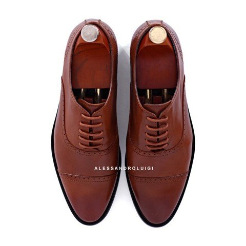 GIAYNAMNUNIKEADIDAS - Giày Nam Luigi quarter brogues - BROWN leather - LG90-44