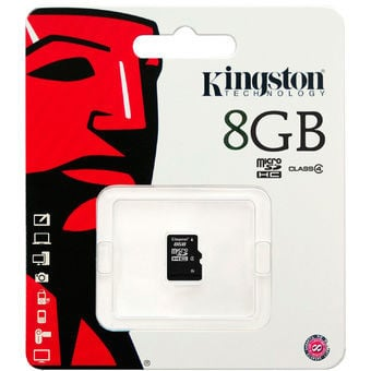 THẺ NHỚ KINGSTON 8GB CLASS 4