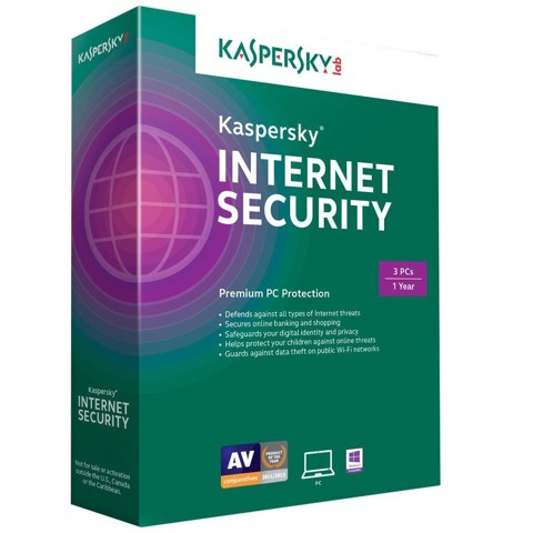 KASPERKY INTERNET 3PCS