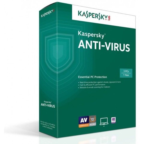 KASPERKY ANTI 3PCS