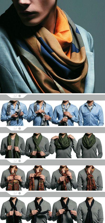 Как правильно завязывать фанатский шарф фото 360-694