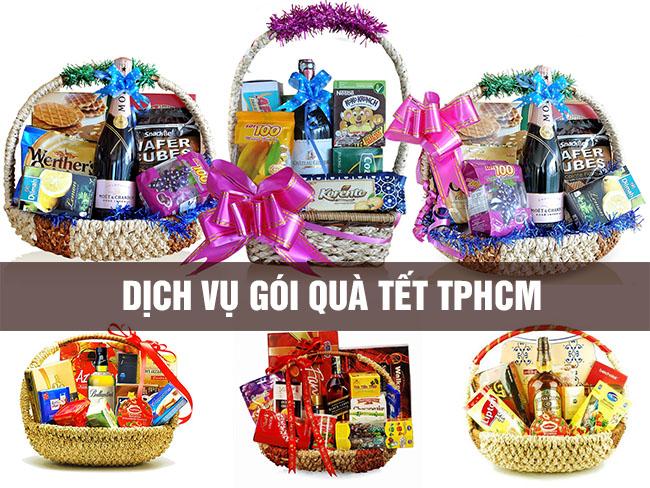 Dịch vụ gói quà tết TPHCM