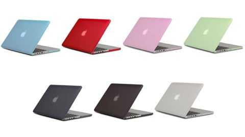 JCPAL Case Macbook Air 13 xanh da trời