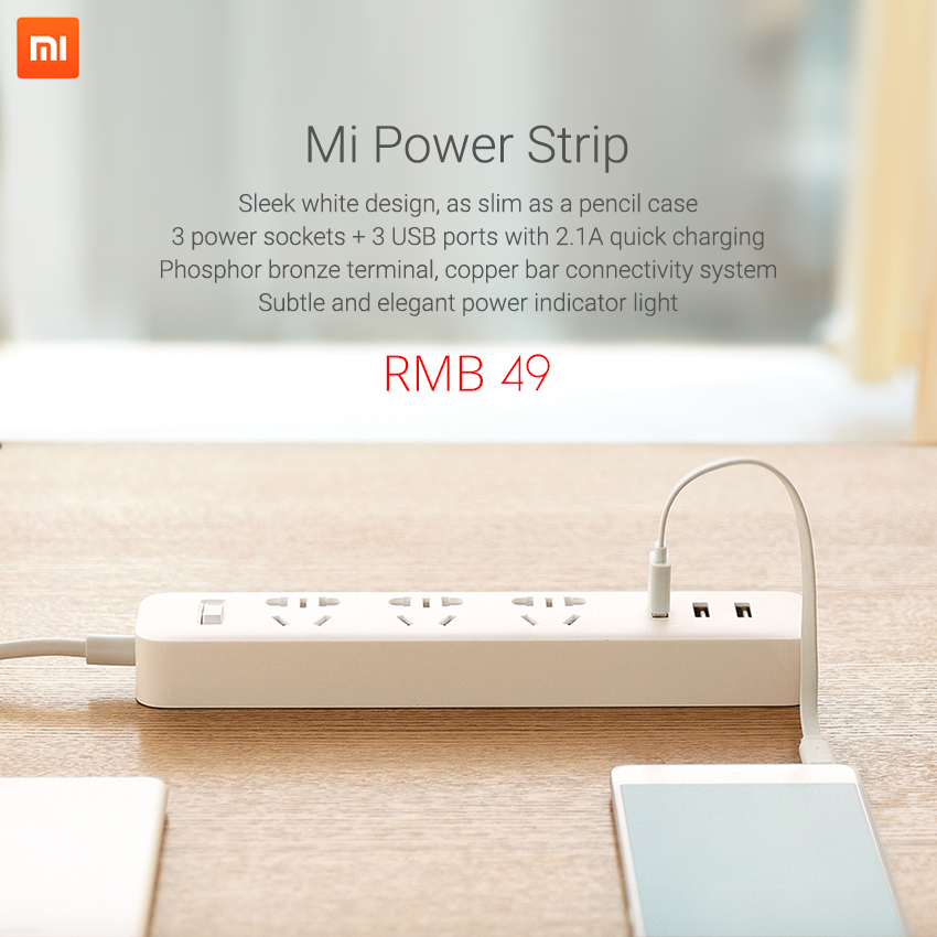 Ổ cắm Xiaomi Mi Power Strip