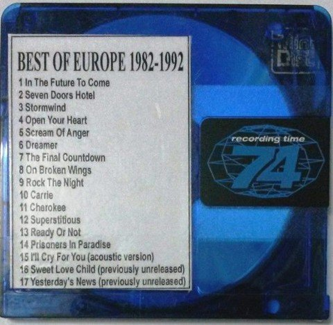 71-BEST OF EUROPE 1982-1992