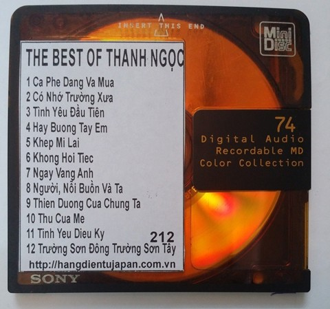 212. THE BEST OF THANH NGỌC