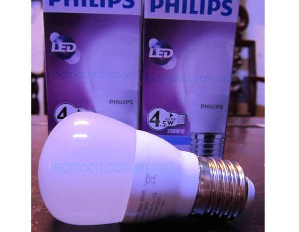 đèn led đui xoáy philips, bong den led philips, bóng đèn tiết kiệm điện