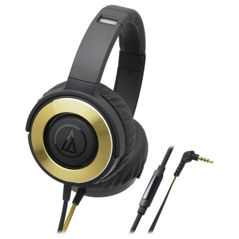 Tai nghe Over-ear Solid Bass Audio Technica ATH-WS550iS
