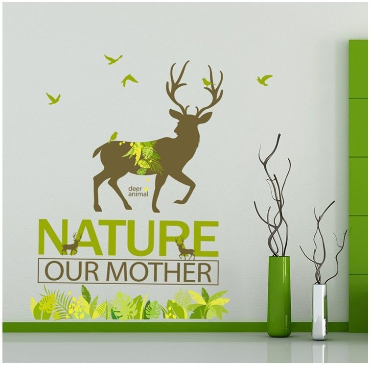 Decal nature our mother