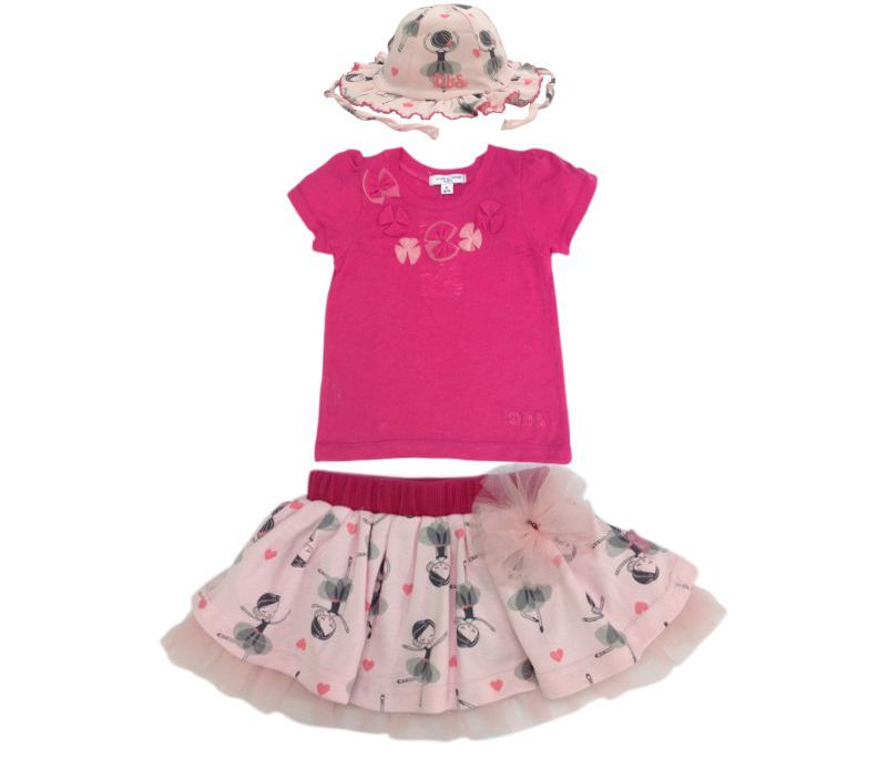 T-shirt with skirt & hat LIA Serie 2