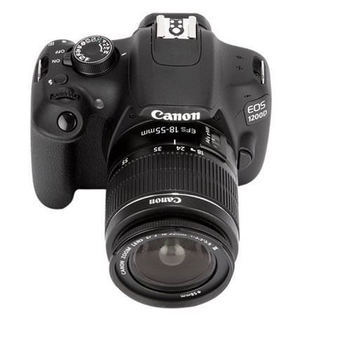 Canon EOS 1200D 18MP với Len Kit EF S18-55IS (Đen)
