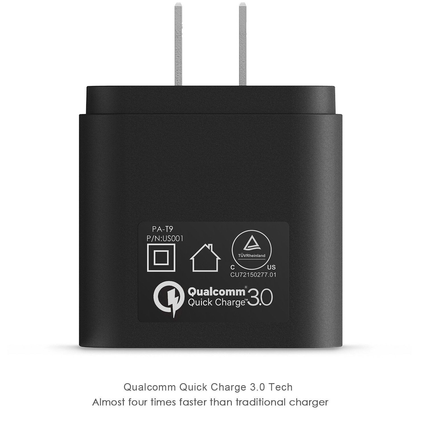 Sạc Aukey PA-T9 Quick Charge 3.0 with Micro-USB Cable