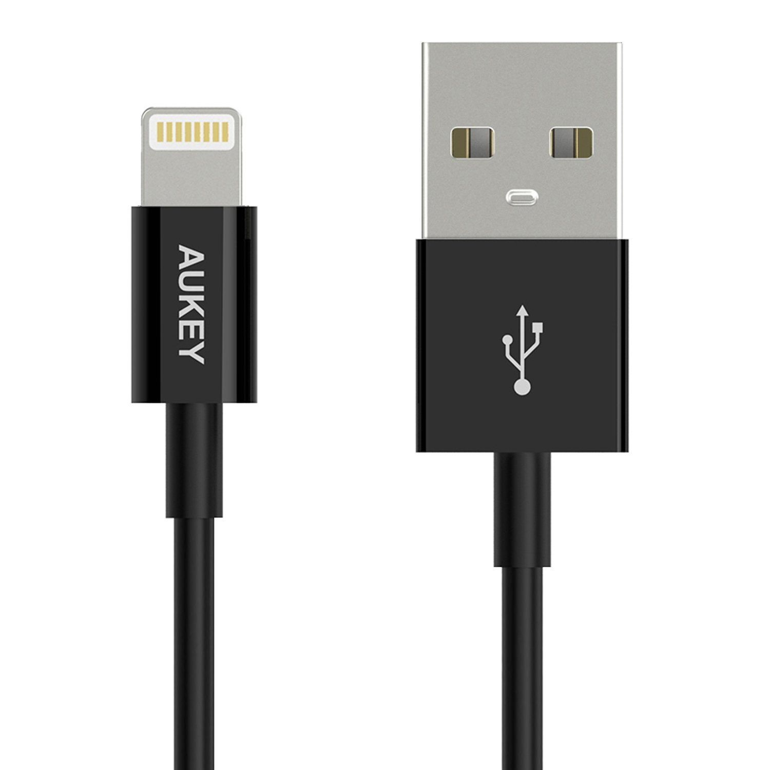 Cáp Aukey CB-D8 Lightning Cable [ Apple MFI Certified ] 20cm