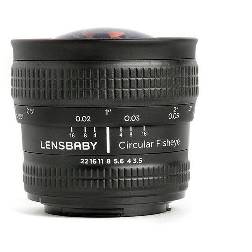 Lensbaby Circular FishEye 5.8mm f/3.5 for Nikon F