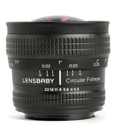 Lensbaby Circular FishEye 5.8mm f/3.5 for Canon EF