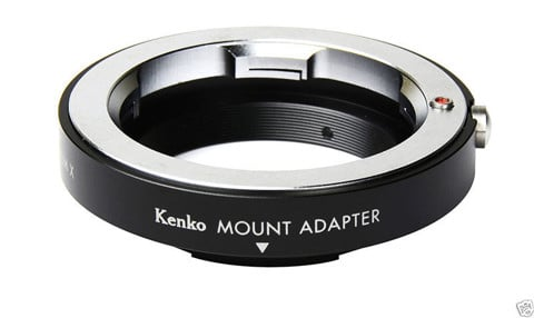 Kenko M mount Adapter - Sony E mount