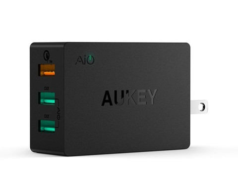 Sạc Aukey PA-T2 Quick Charge 2.0 42W