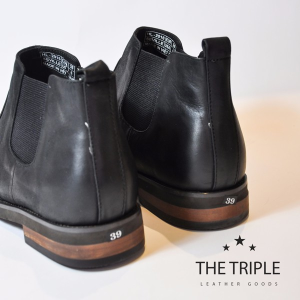 THE TRIPLE, CHELSEA BOOTS,