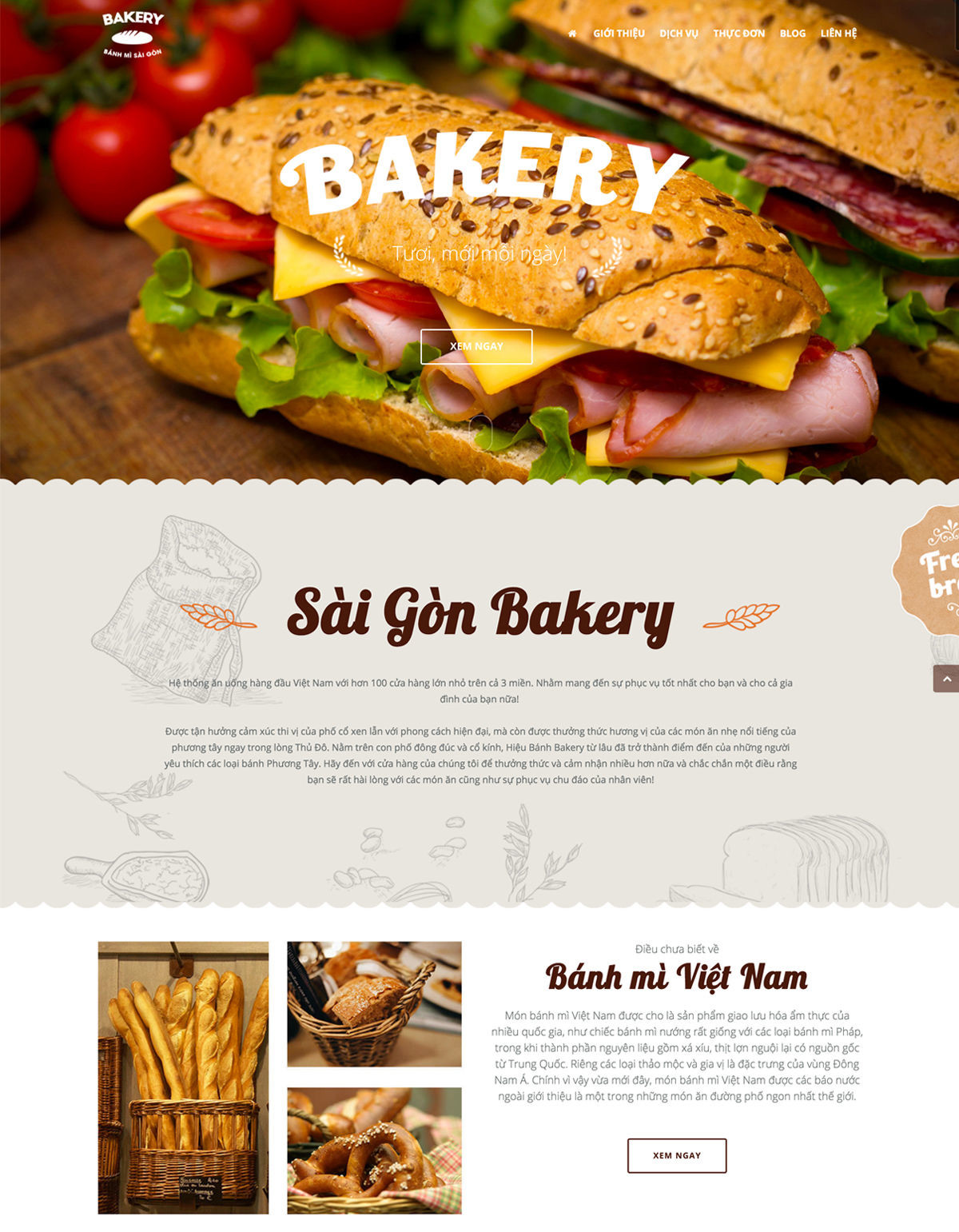 bakery theme