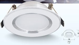 Đèn Led downlight 9W PA0910