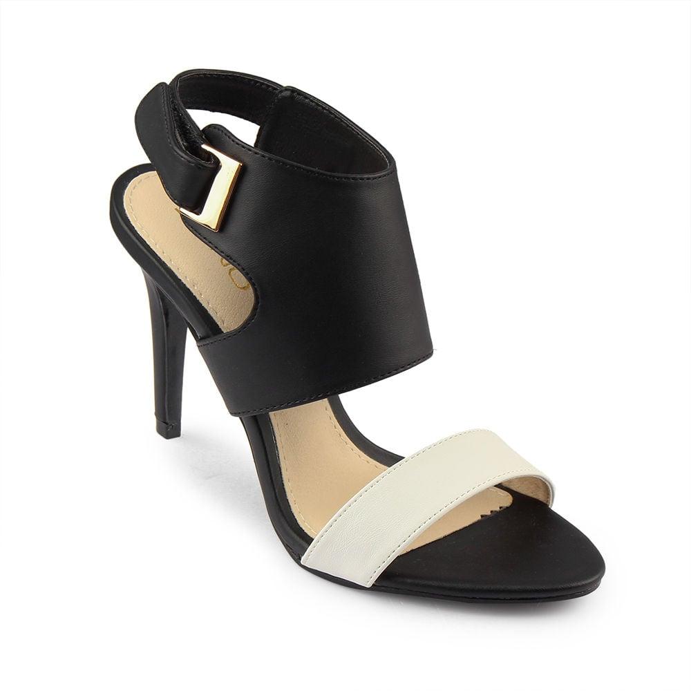 Giày Sandal 9cm quai ngang gót nhọn SD09012