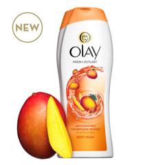 Sữa tắm Olay Fresh Outlast Invigorating Champagne Mango 700ml