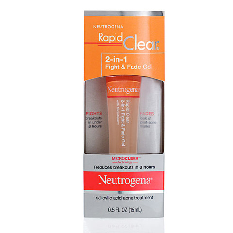 Gel trị mụn Neutrogena - Rapid Clear 2 in 1