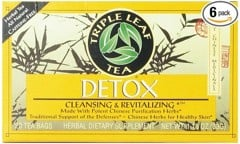 Trà thải độc Triple Leaf Tea Detox Cleansing and Revitalizing