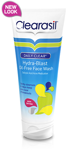 Sữa rửa mặt Clearasil Daily Cleat Hydra-Blast Oil-Free Face Wash 192ml