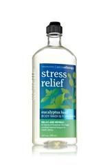 Sữa tắm Bath & Body Works Aroma Stress Relief Eucalyptus Basil