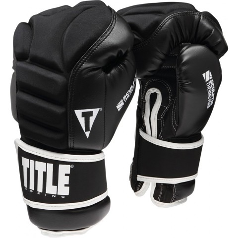 Găng tay tập luyện Title Sculpted Thermo Foam Boxing Training Gloves