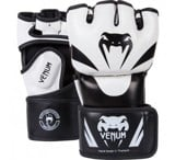 Găng tay MMA hở ngón VENUM ATTACK GLOVES - SKINTEX LEATHER