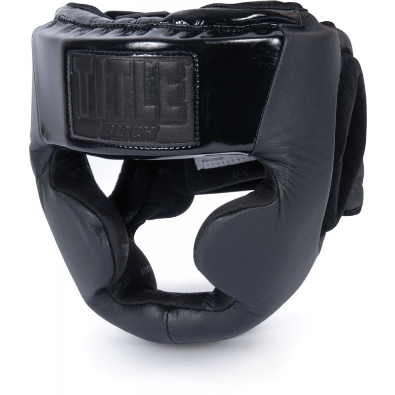 Nón Title Black Full Face Headgear
