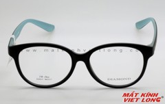 GỌNG KÍNH DIAMOND D3015-BLACK/BLUE 46-17