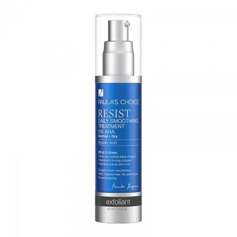 <p> - Tẩy tế bào chết Paula's Choice Resist Daily Smoothing Treatment with 5% AHA
