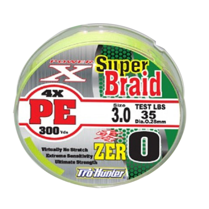 Prohunter Super Braid Pe 4X 150yds-300yds (Dây Pe)
