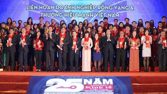 QH Plus duoc vinh danh Doanh nghiep thuong hieu manh