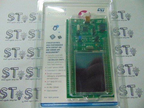 Kit STM32F429 Discovery
